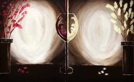 Couples Wine Glass